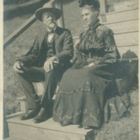 "A.A. ""Paul"" Smith with Mrs. Millbank"