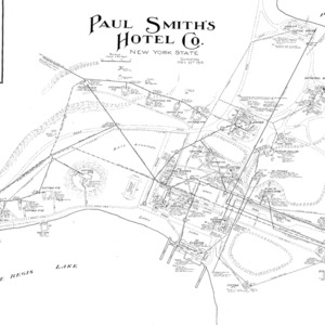 Paul Smith's Hotel Grounds 1914 Map.TIF