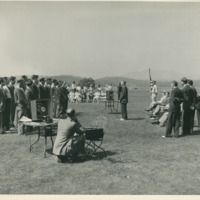 Signal Corps School Ceremony