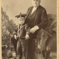 P.T. Barnum and Great-Grandson
