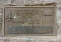 Civilian Conservation Corps Camp S-84/Company 229 Plaque